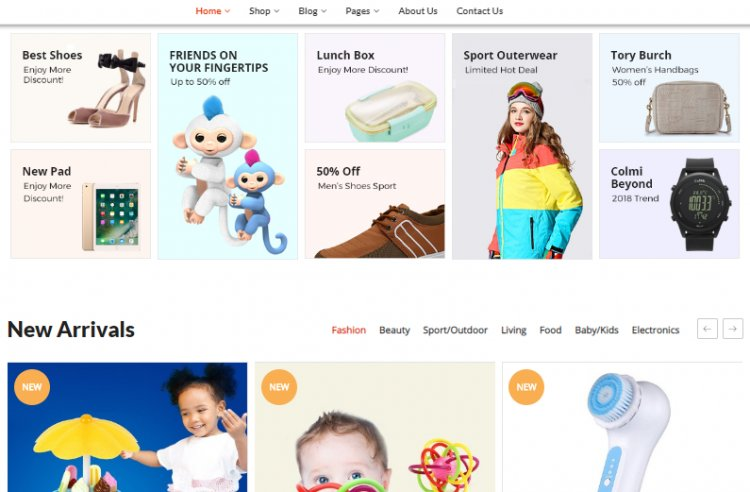 Truemart - Fashion Electronics Store HTML Nulled