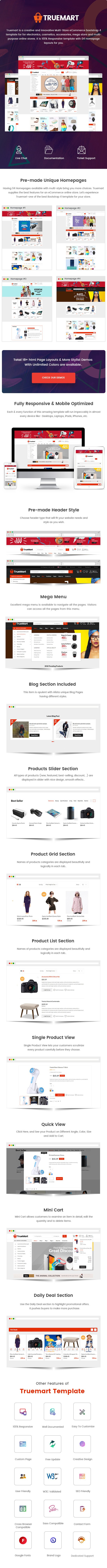 Truemart - Fashion Electronics Store HTML Template Nulled