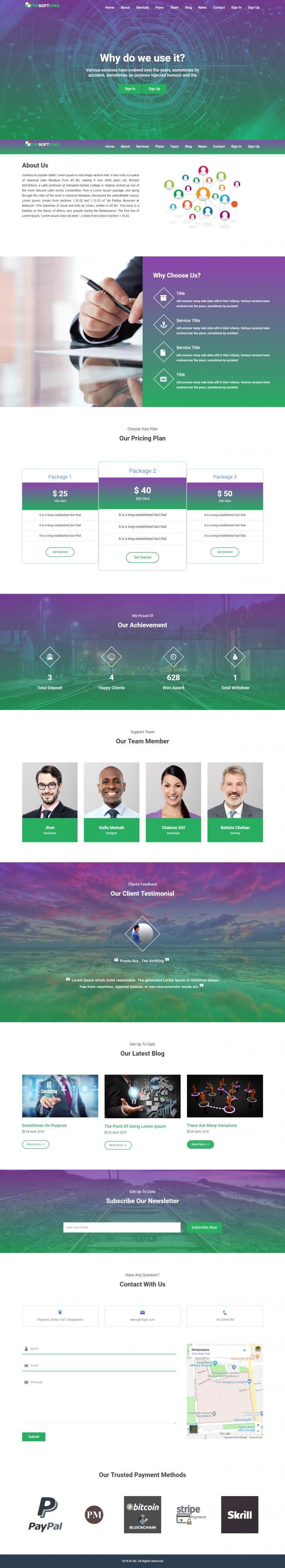 Oki - Pay Per Click Platform Nulled