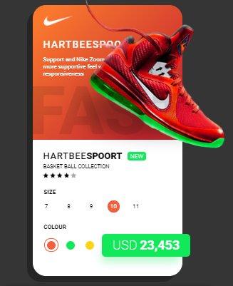 HTML UI Design - Product Card