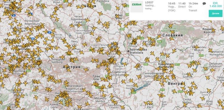 FlightRadar24 Parser script