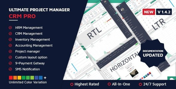 Ultimate Project Manager CRM PRO v1.4.2 Free Nulled