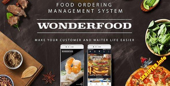Wonderfood v1.0 Food ordering management system