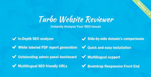 Turbo Website Reviewer - In-depth SEO Analysis Tool v1.9
