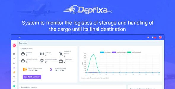 Courier Deprixa Pro - Courier System Nulled