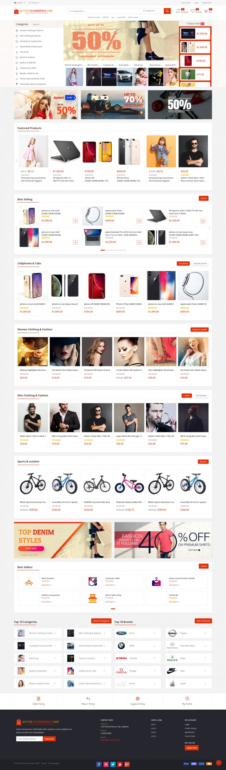 Active eCommerce CMS v1.7 Nulled