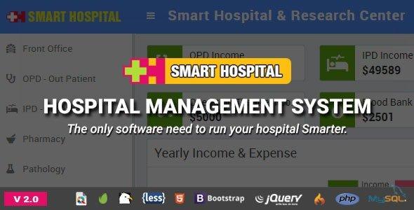 Smart Hospital : Hospital Management System v2.0