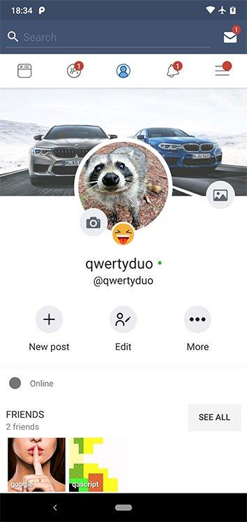 My Social Network (App and Website) v4.9