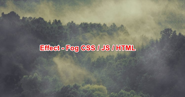 Website fog effect