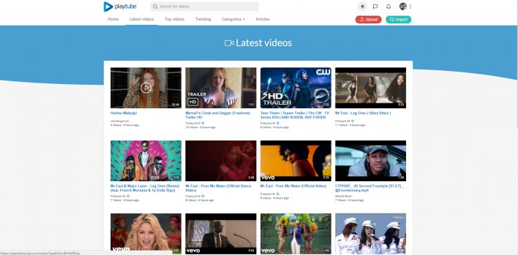 PlayTube v.1.7.1 - The Ultimate PHP Video CMS & Video Sharing Platform NULLED