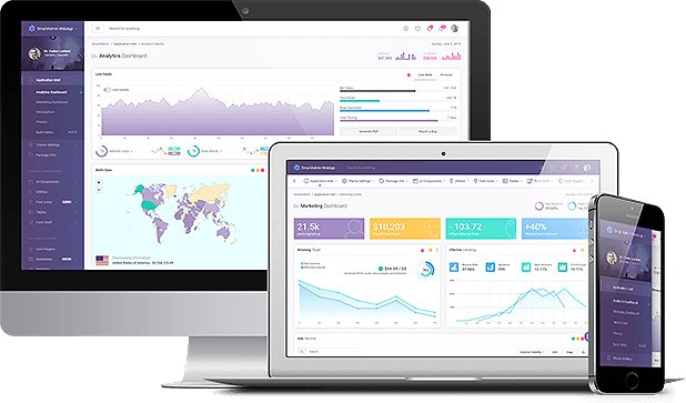 SmartAdmin 4.0 – an advanced UI Bootstrap 4 Admin and Dashboard Nulled
