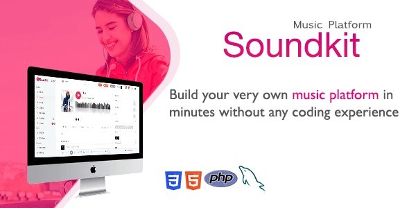 Soundkit - Social Music Sharing Platform v2.4.2 Nulled