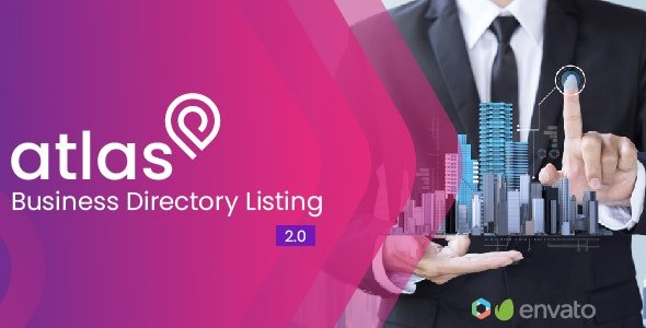 Atlas V2.0 Business Directory Listing Nulled