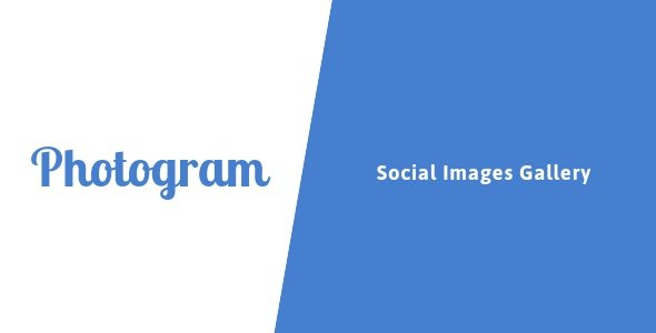 Photogram - Social Images Gallery Nulled