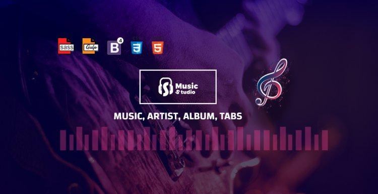 Milando – Music Portal HTML Template Nulled