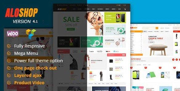 Alo Shop - Mega Market WordPress v4.1 Nulled