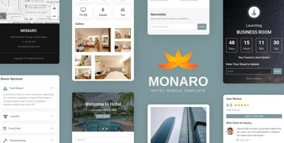 Monaro - Hotel Mobile Template Nulled