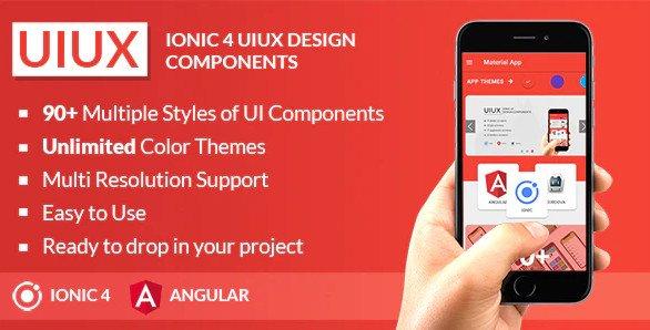 UIUX - IONIC 4 UI Design Components | Multipurpose Starter App NULLED
