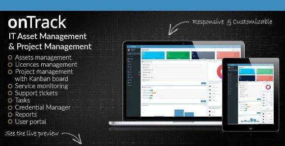 onTrack v1.16 - IT Asset Management & Project Management Nulled