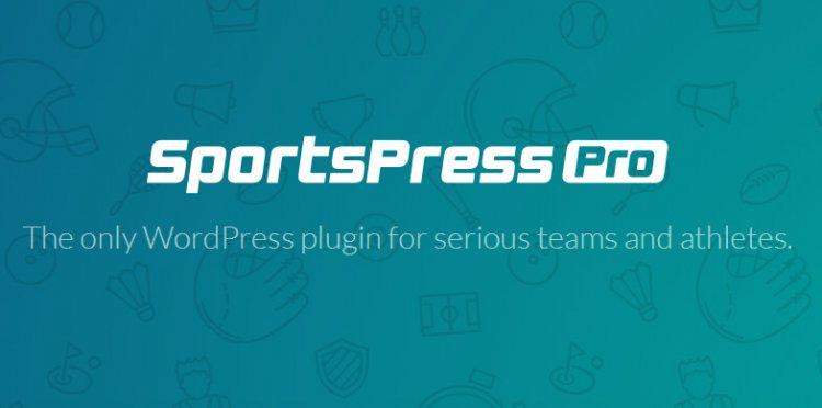 SportPress Pro v2.6.20 - WordPress Plugin Free