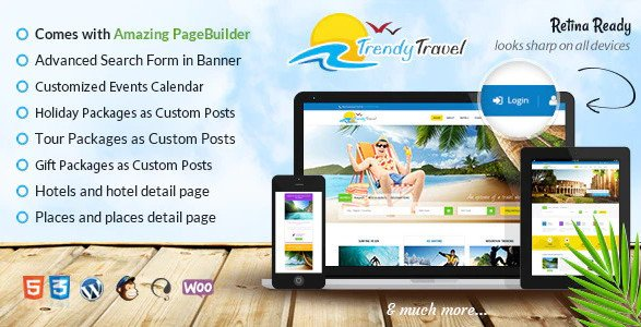 Tourism & Travel WordPress Theme Nulled