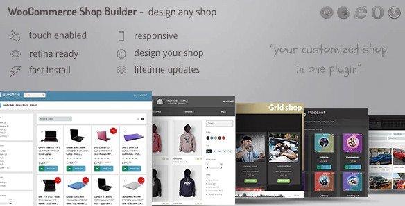 WooCommerce shop page builder v1.28 Nulled