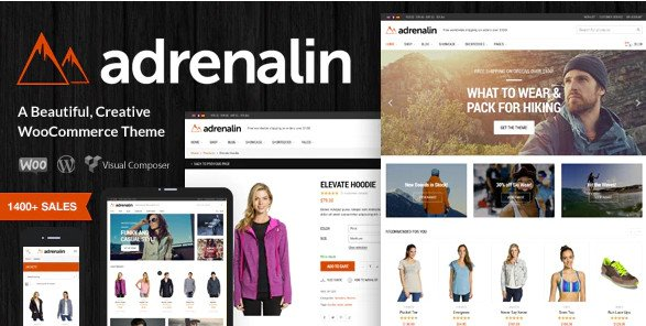 Adrenalin v2.0.6 - Multi-Purpose WooCommerce Theme Nulled