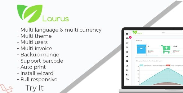 Laurus v1.2 - Pharmacy Management System Nulled