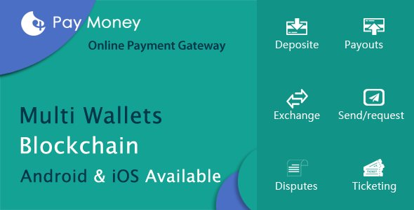 PayMoney v2.3 - Secure Online Payment Gateway Nulled