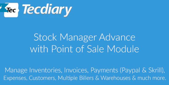 Stock Manager Advance with Point of Sale Module v3.4.29 Nulled