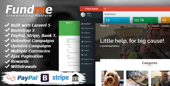 Fundme - Crowdfunding Platform v2.9 Nulled