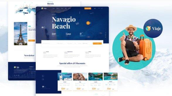 Viaje - Travel and Tour HTML Template Free