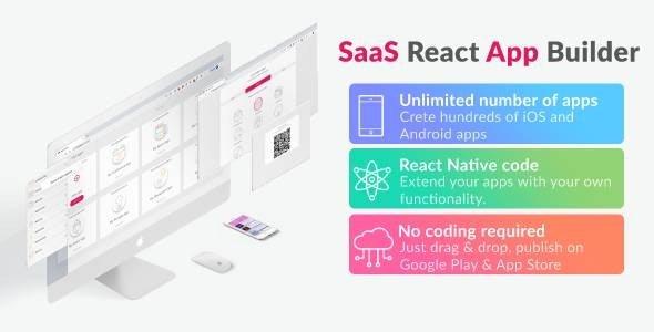 React App Builder v12.0.3 - SaaS - Unlimited number of apps Nulled