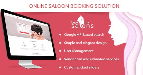 Online Salon Appointment Booking Solution - Book My Salon Nulled v1.2