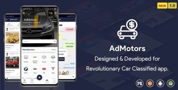 AdMotors For Car Classified Android App (1.1) Free