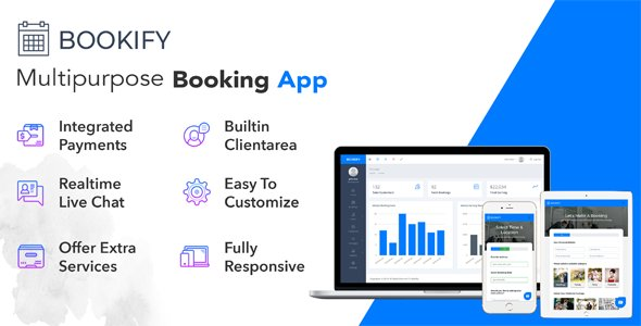 Bookify - Multipurpose Booking App v1.4