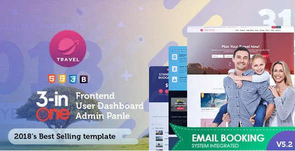 Tour & Travel Package Booking Template v5.2 Nulled Free