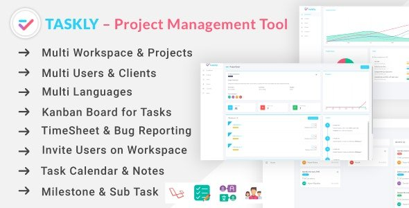 TASKLY – Project Management Tool Free