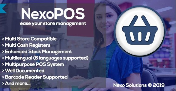 NexoPOS - Extendable PHP Point of Sale v3.15.0 Nulled