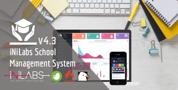 Inilabs School Express: School Management System V4.5 Nulled