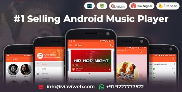 Android Music Player - Online MP3 (Songs) App Free