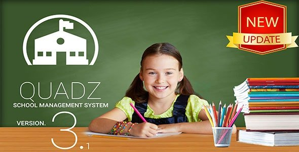 Quadz School Management System v3.1 Nulled