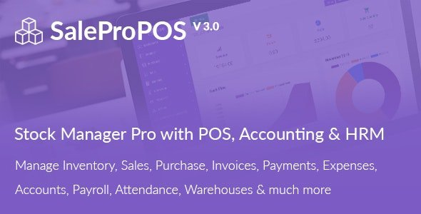 SalePro - Inventory Management System with POS, HRM, Accounting Nulled