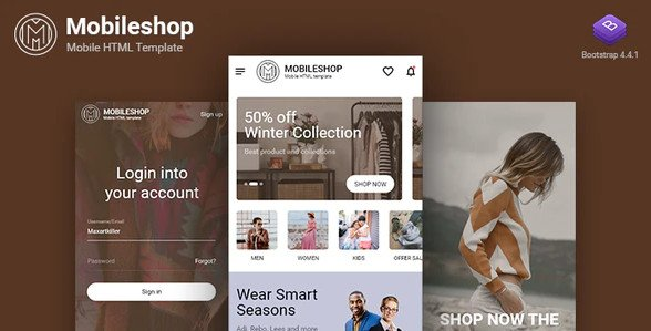 Mobileshop Multipurpose Mobile HTML template RIP (Nulled)