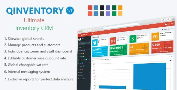 Qinventory CRM v1.2 Nulled