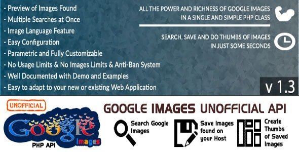 Google Images - Unofficial API v1.3 Nulled