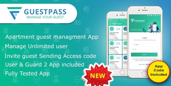 GuestPass - Apartment Guest Managment App Free