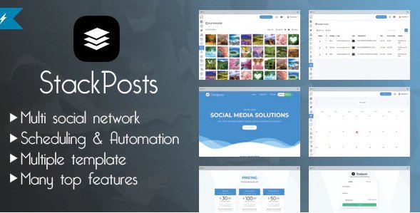 Stackposts - Social Marketing Tool Nulled
