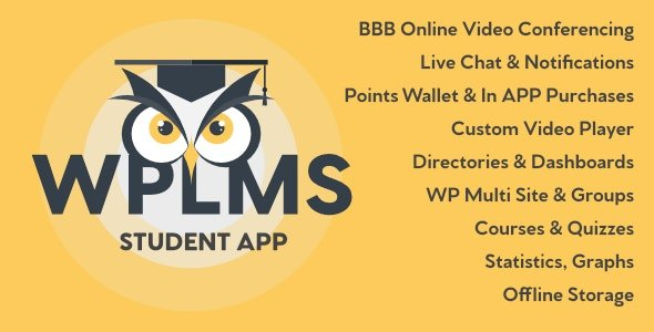 WPLMS Learning Management System App for Education & eLearning Free