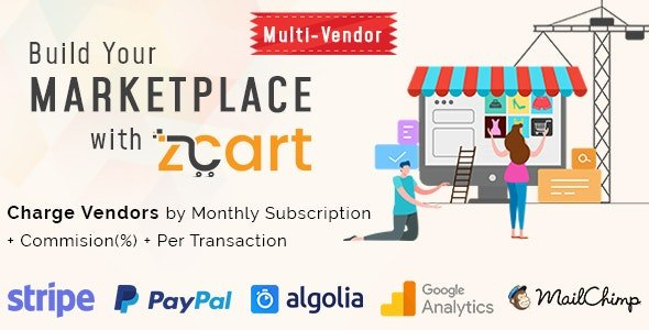 zCart Multi-Vendor eCommerce Marketplace Nulled